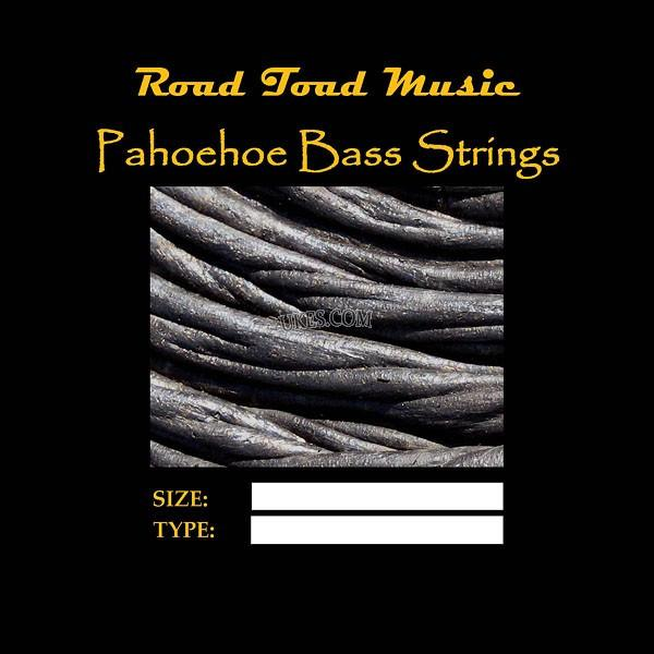 Strings - Pahoehoe Black Bass Strings For U-Bass