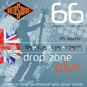 Strings - Rotosound Drop Zone For Drop Tuning