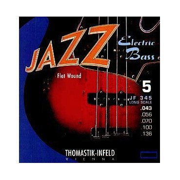 Thomastik Jazz Flats JF345  5 String