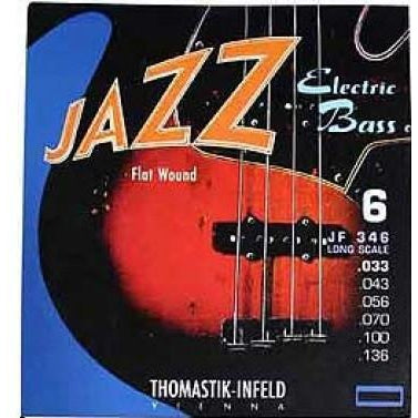 Thomastik Jazz Flats JF346 6 string