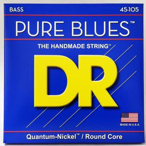 DR Pure Blues 4 String Sets