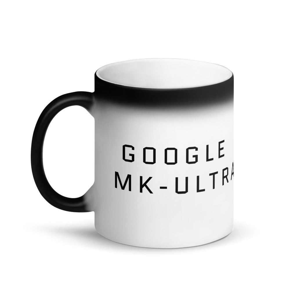 Google MK-Ultra Black Magic Mug