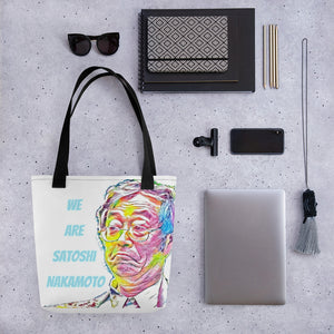 We Are Satoshi Tote bag