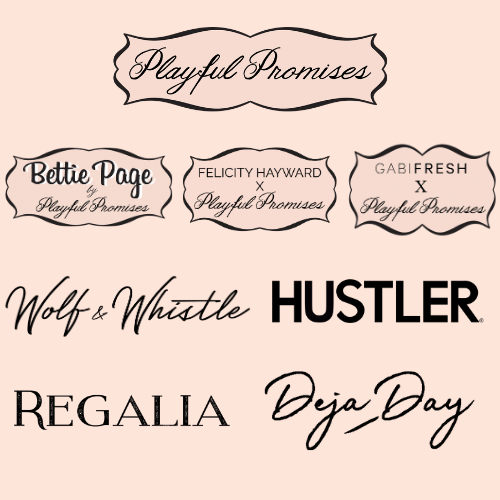 Brands presented by Playful Promises Lingerie