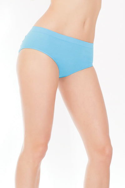 panties, CQ168 - Stretch Knit Panty With Center Back Slashes. - Lavender's Dream