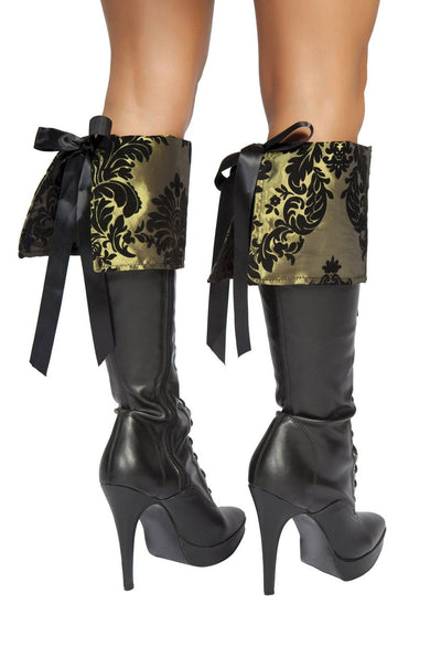 boot cuffs, RM4154B Tea Party Tease Boot Covers - Lavender's Dream