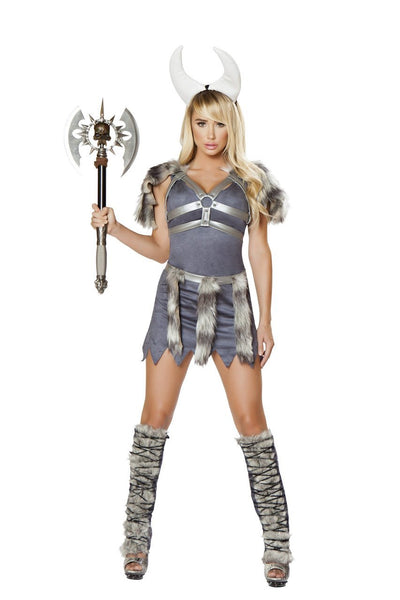 womens costume, RM4678 - 4pc Sexy Viking Warrior Costume - Lavender's Dream