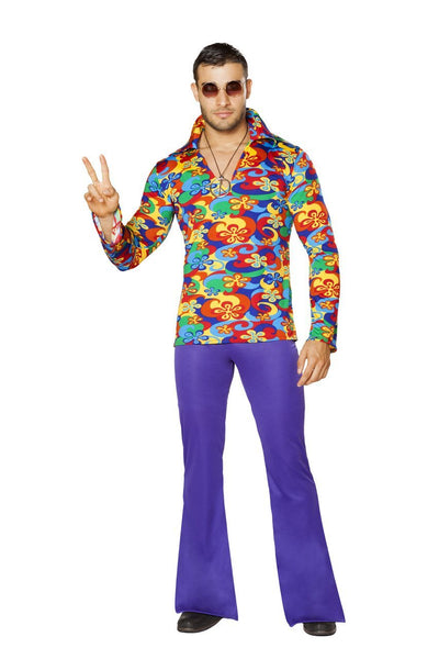 men's costume, RM4750 - 2pc Men's Make Love, Not War Costume - Lavender's Dream