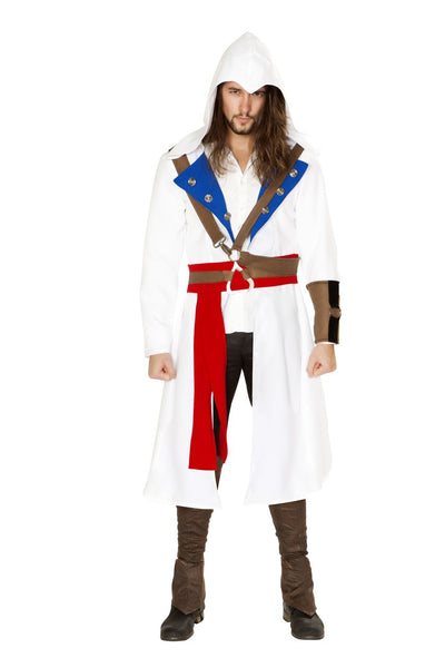 men's costume, RM4844 - 3pc The Assassins Warrior Costume - Lavender's Dream