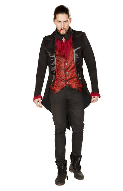 men's costume, RM4865 - 2pc Terror of the Night Vampire Costume - Lavender's Dream