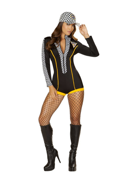 womens costume, RM4887 - 1pc Race Car Diva Costume - Lavender's Dream