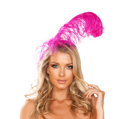 costume accessory, RM4953 - Feather Headband - Lavender's Dream