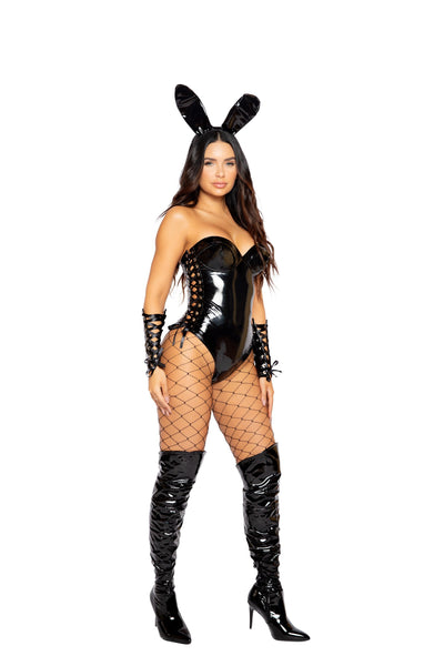 womens costume, RM4974 - 2pc Kinky Bunny Women's Costume - Lavender's Dream