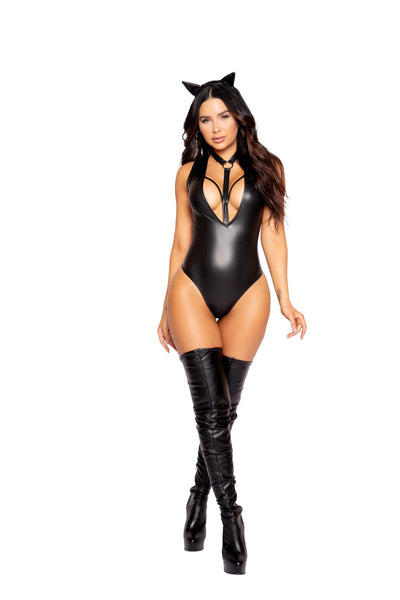 womens costume, RM4978 - 2pc Fierce Catwoman Women's Costume - Lavender's Dream