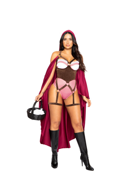 womens costume, RM4994 - 2pc Red Riding Hood Women's Costume - Lavender's Dream