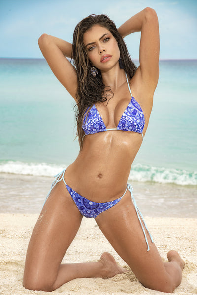 bikini set, MP6563 - Two Piece Swimsuit - Lavender's Dream