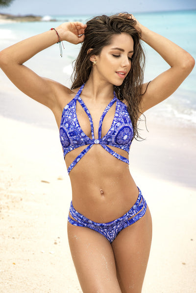 bikini set, MP6568 - Two Piece Swimsuit - Lavender's Dream