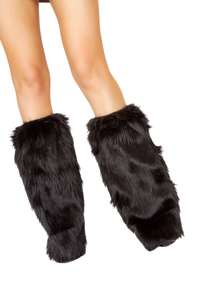 leg warmers, FF8003 - Original Faux Fur Leg Warmers - Lavender's Dream
