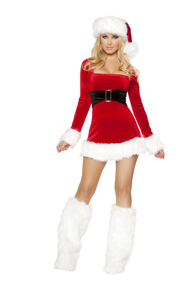 womens costume, C147-1pc Santa's Saint Women's Christmas Costume - Lavender's Dream