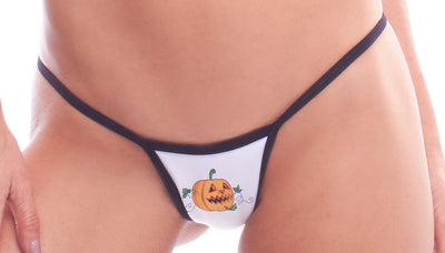 thong, HA171162 Halloween Tiny Low Back Tee - Lavender's Dream