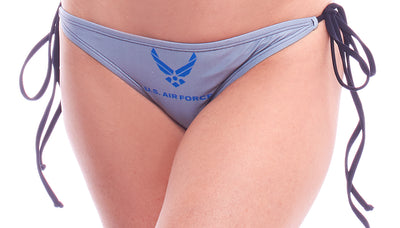 bikini bottoms, PA099 Air Force Bikini Bottoms - Lavender's Dream