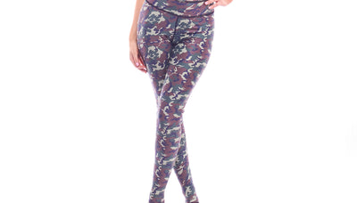 leggings, PA113 Army Leggings - Lavender's Dream
