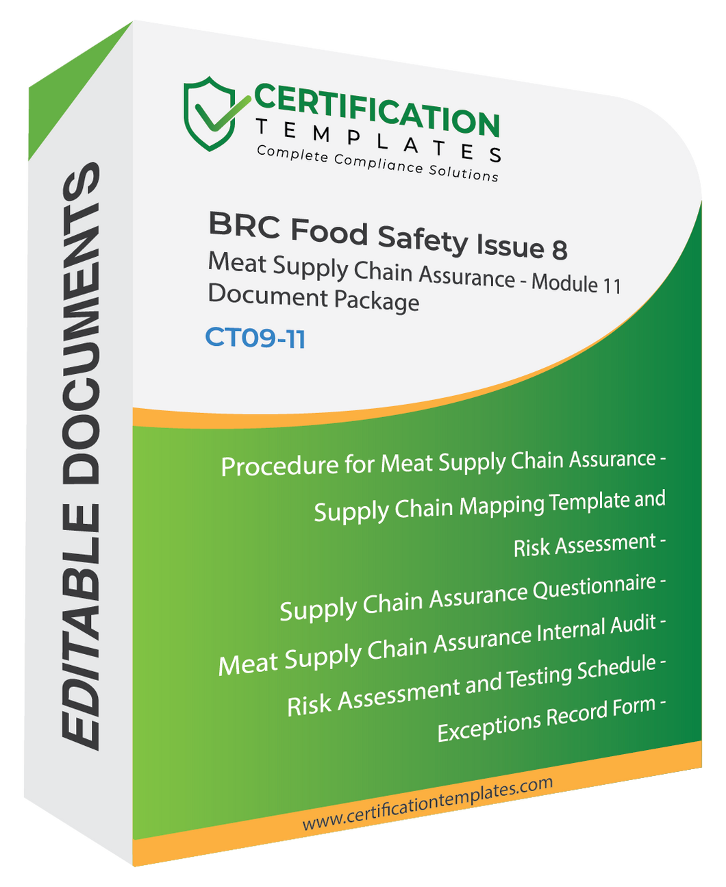 BRC Meat Supply Chain Assurance