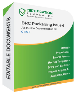 BRC Packaging Documentation Kit