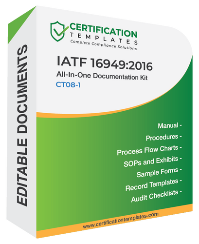 IATF 16949 Documentation Kit