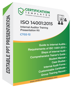 ISO 14001 Internal Auditor Training Kit