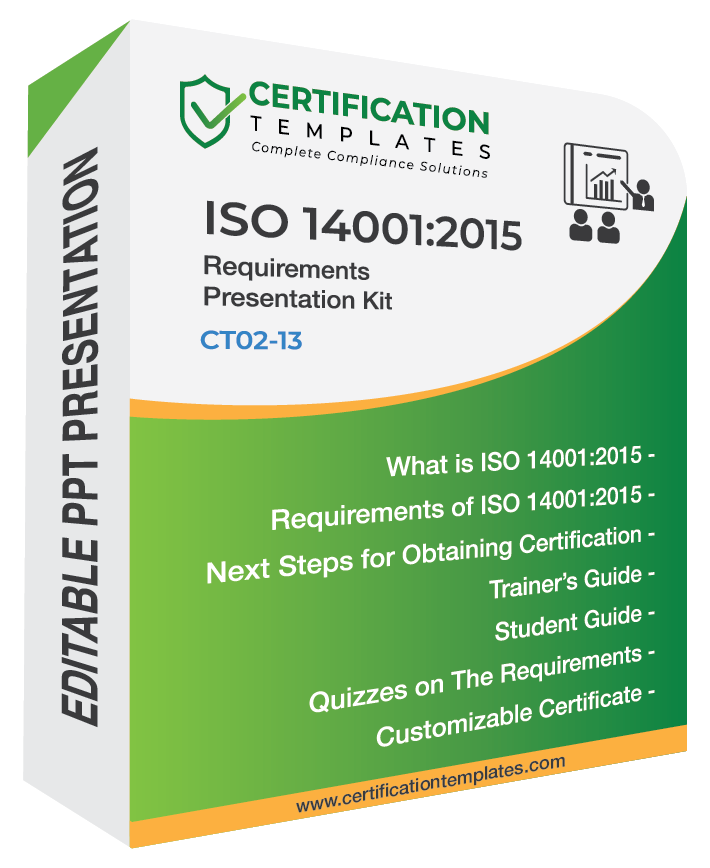 ISO 14001 Requirements Training