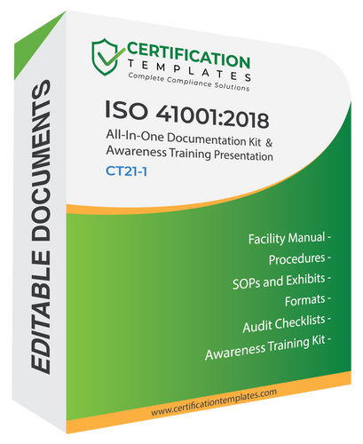 ISO 41001 Documentation Kit