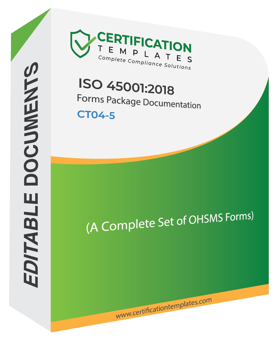 ISO 45001 Forms Package
