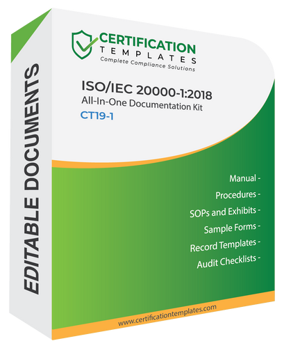 ISO 20000 Documentation Kit
