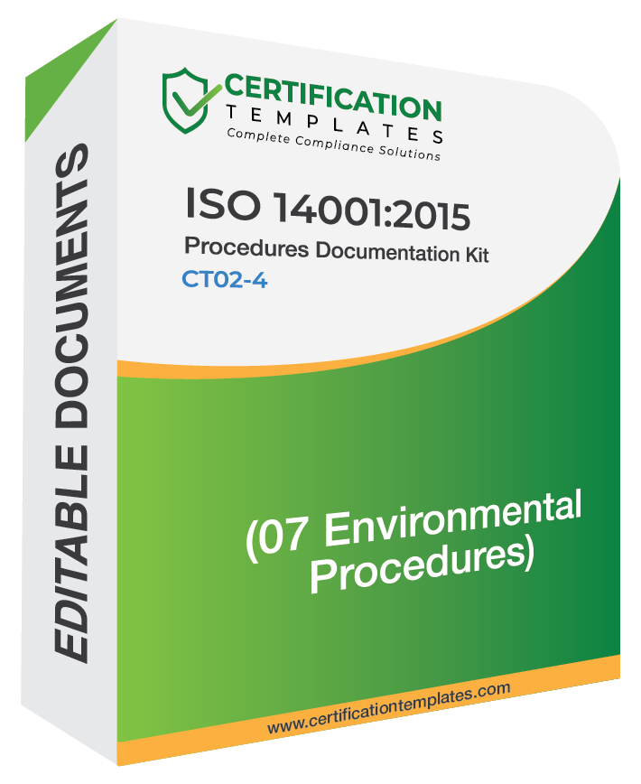 ISO 14001 Procedures
