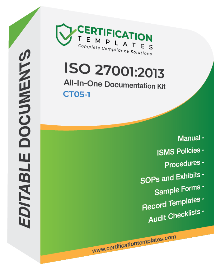 ISO 27001 Documentation Kit