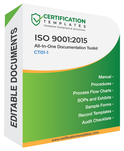 ISO 9001 Documentation Kit