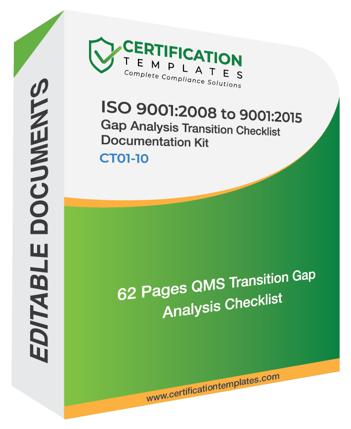 ISO 9001 Gap Analysis Transition