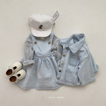 Load image into Gallery viewer, KIDS - OTTO Denim Dress *Preorder
