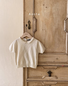 Gentle Collar Knit Top *preorder