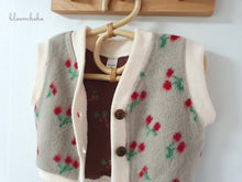 Load image into Gallery viewer, Bloombebe Cherry Vest  *preorder