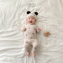 Load image into Gallery viewer, Panda Baby Set ( Hat + Top + Bottom) * Preorder