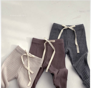 Ribbed Knit Leggings * Preorder