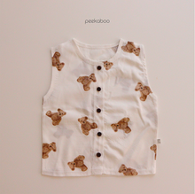 Load image into Gallery viewer, BABE - Peekabo Summer Teddy Bear Top and Pants Set * Preorder