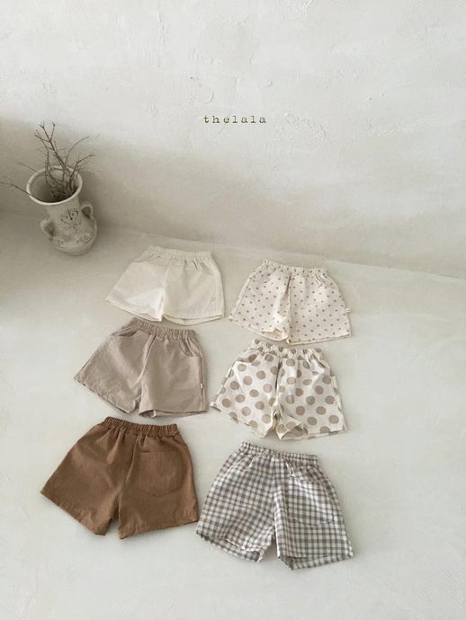 Latte Shorts * Preorder