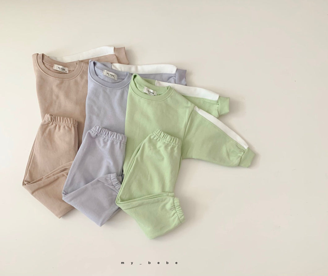 Pastel Top and Bottom Set *Preorder