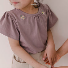 Load image into Gallery viewer, Daisy Shirring Tee Shirt *Preorder