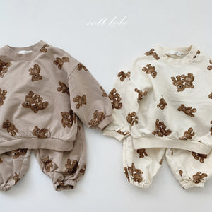 Chunky Bear top and pants set *Preorder