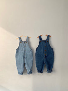 Denim suspenders* in stock