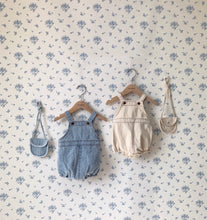 Load image into Gallery viewer, Petite Denim Suit (with mini purse)